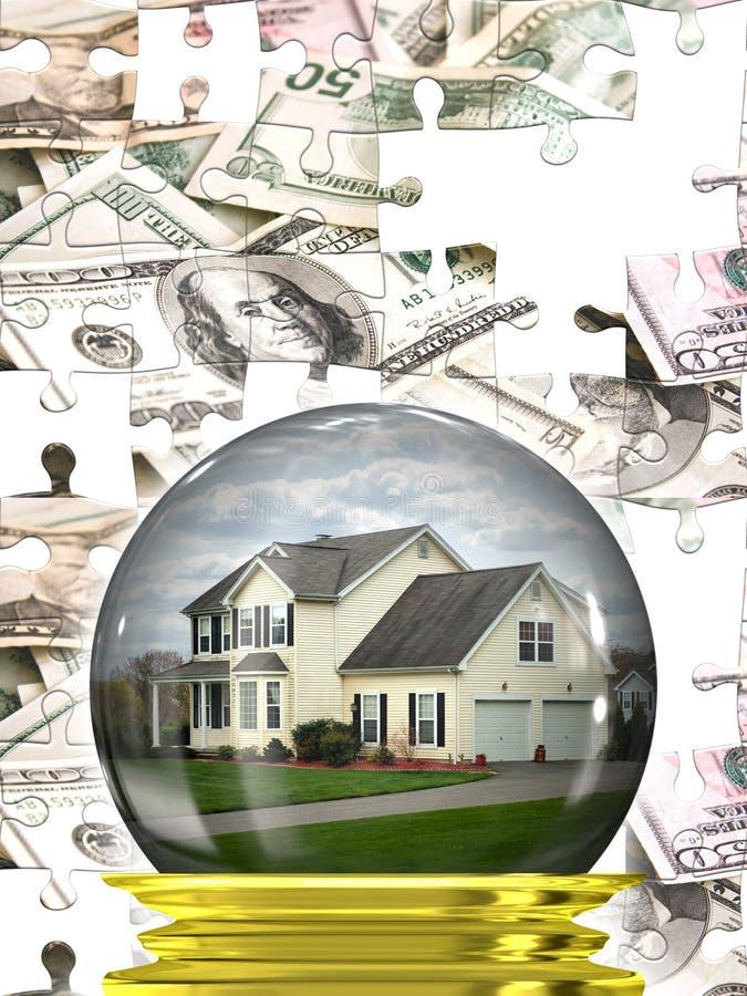 Mercato degli alloggi del bene immobile royalty illustrazione gratis