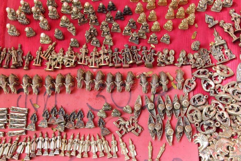 Mercato del talismano di Bangkok fotografia stock libera da diritti