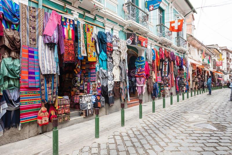 Mercato del turista del ricordo immagini stock libere da diritti