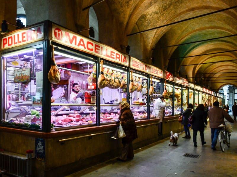 Mercato dell'alimento a Padova (Padova), Italia fotografie stock