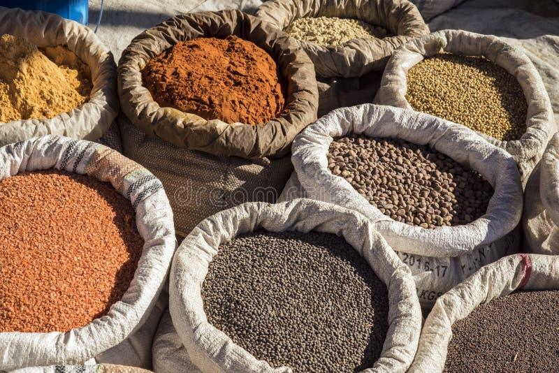 Mercato di Bati, Etiopia fotografia stock libera da diritti