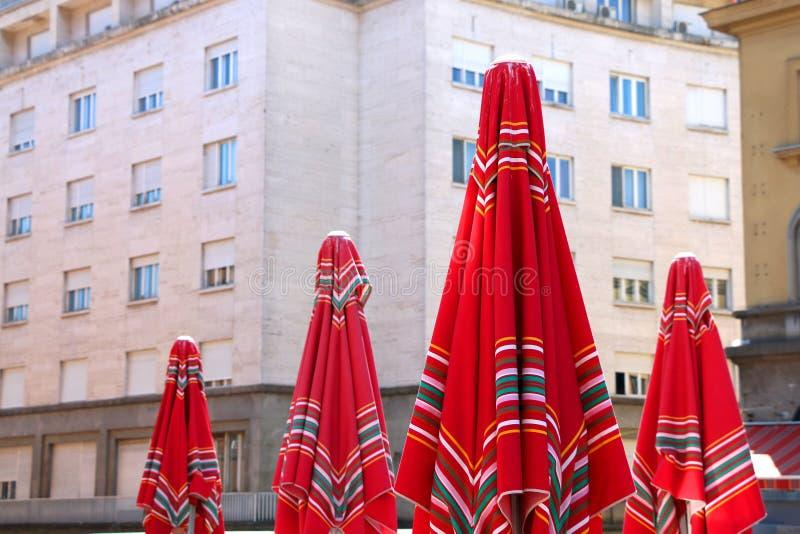 Mercato di Dolac, Zagabria fotografia stock libera da diritti