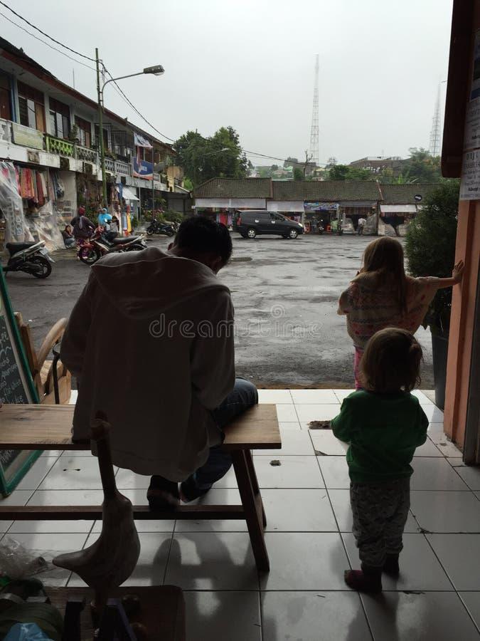 Mercato di frutta di Bedugul Asia Bali fotografia stock libera da diritti