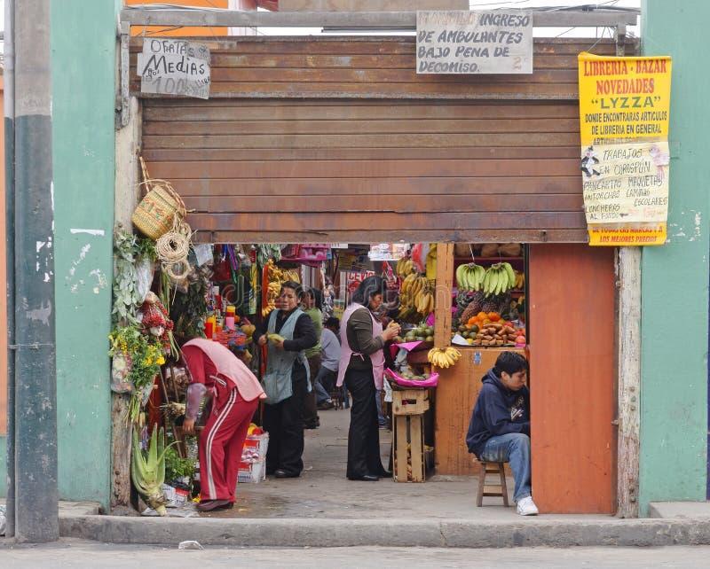 Mercato di Magdelena, Lima, Perù immagini stock libere da diritti
