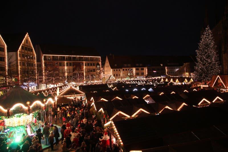 Mercato di Natale fotografie stock libere da diritti