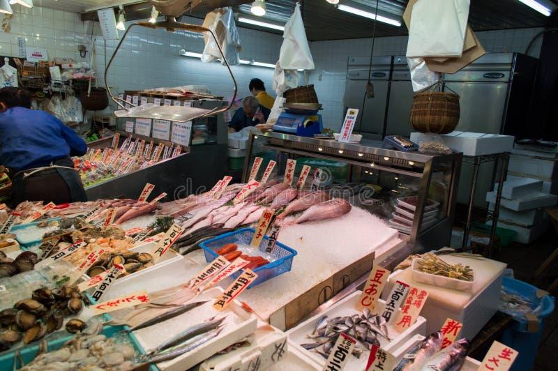 Download Mercato di Nishiki a Kyoto fotografia editoriale. Immagine di blocco - 56879772
