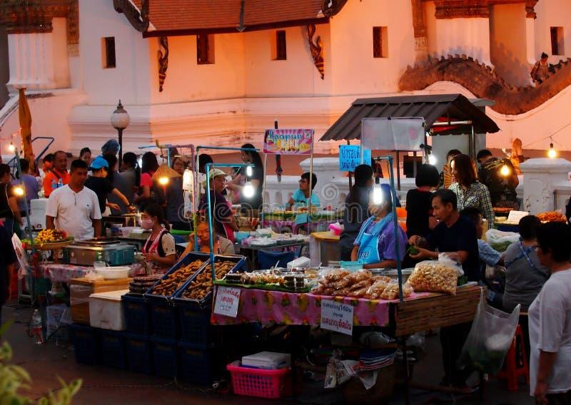 Mercato di notte immagini stock libere da diritti
