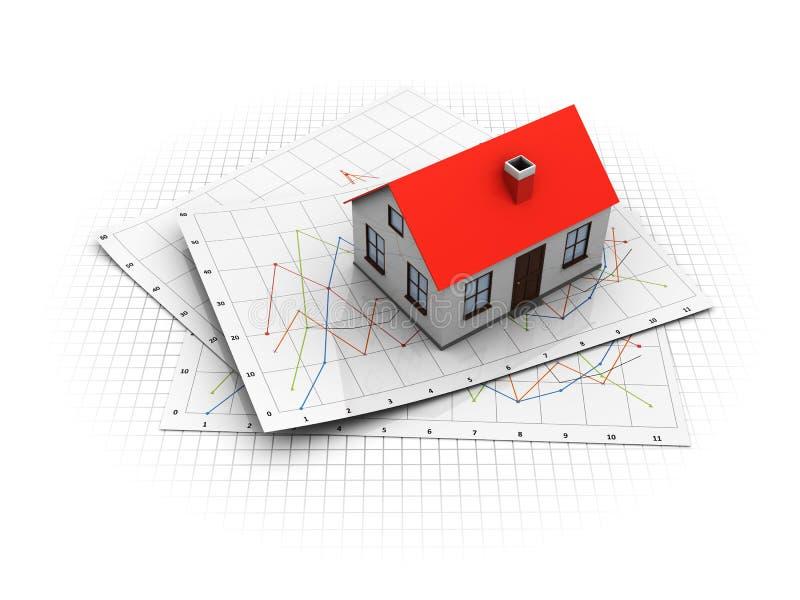 Mercato immobiliare royalty illustrazione gratis
