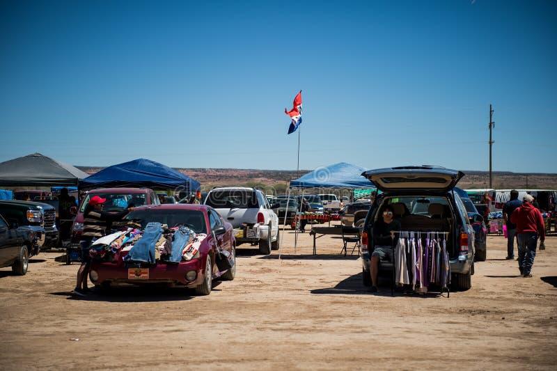 Mercato nel Texas Il navajo fotografie stock libere da diritti