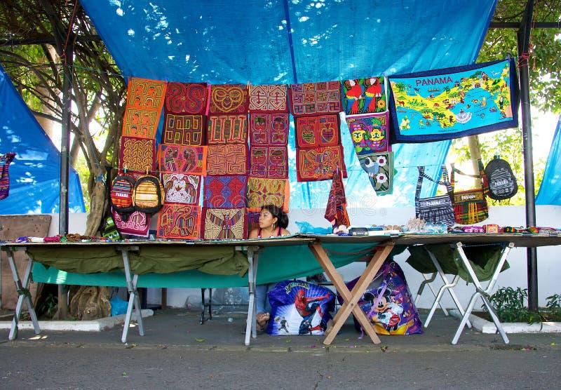 Mercato in Panamá fotografie stock