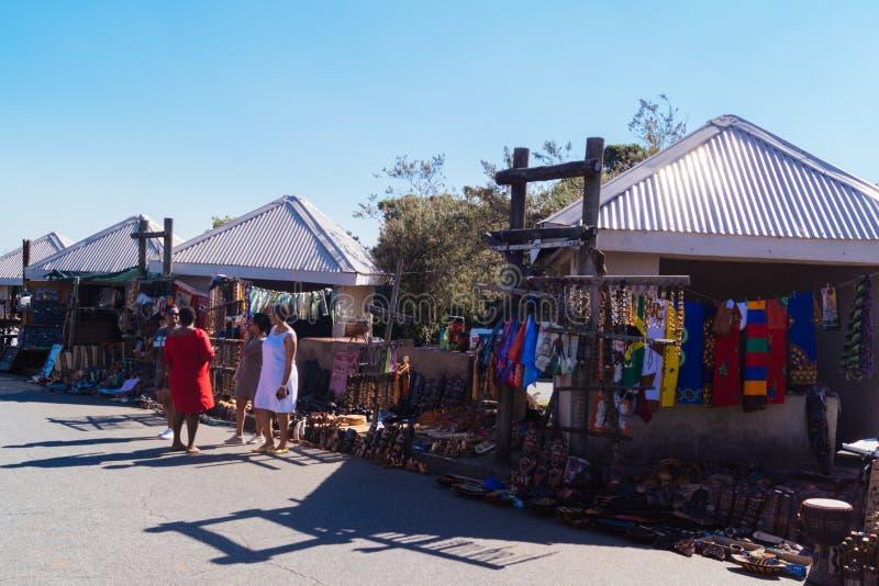 Mercato sudafricano fotografia stock libera da diritti