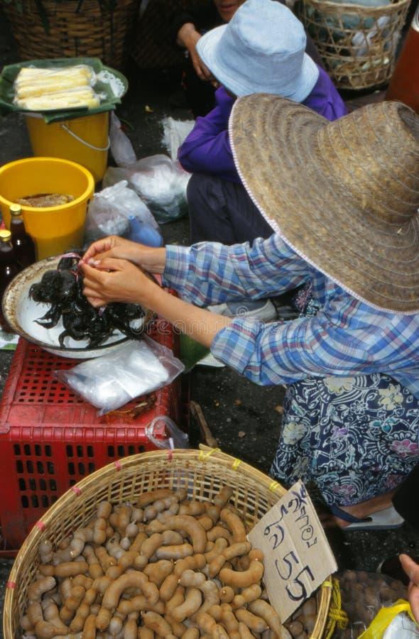 Mercato in Tailandia. fotografia stock