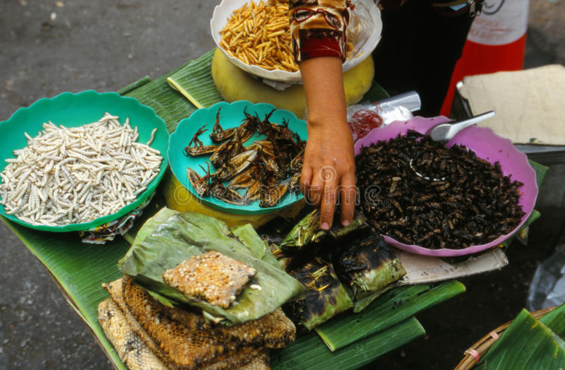 Mercato in Tailandia. immagini stock