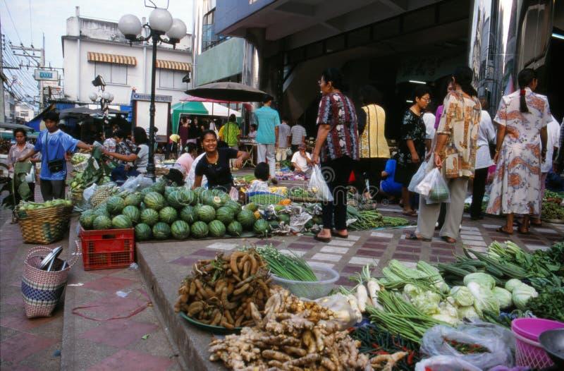Mercato in Tailandia. fotografia stock libera da diritti