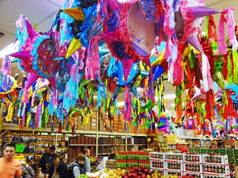 Mercearia do Latino em Maryland fotografia de stock royalty free