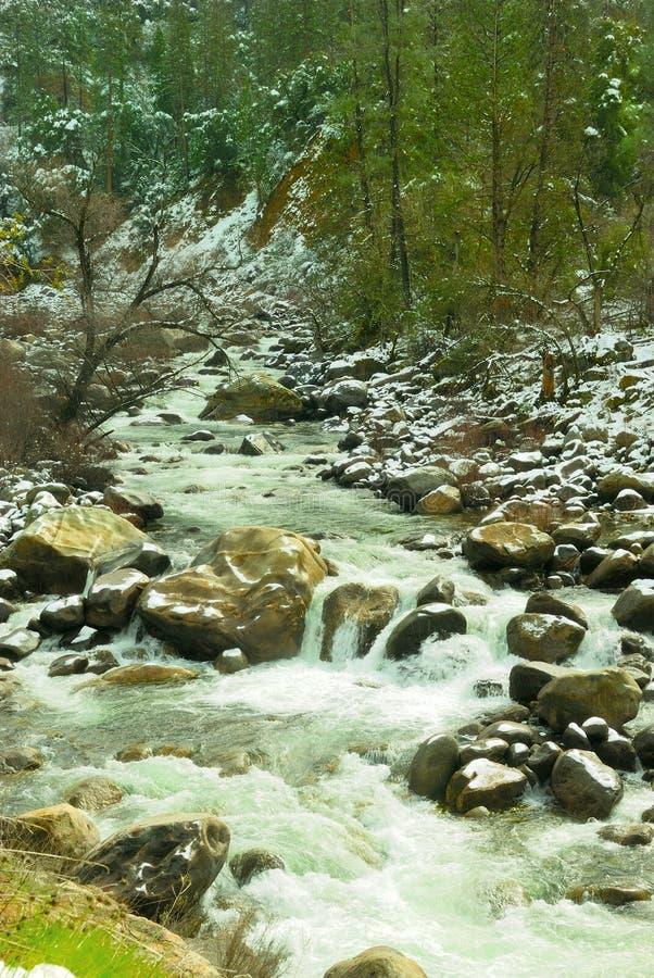 Free Merced River Waterfall Royalty Free Stock Photo - 2150105