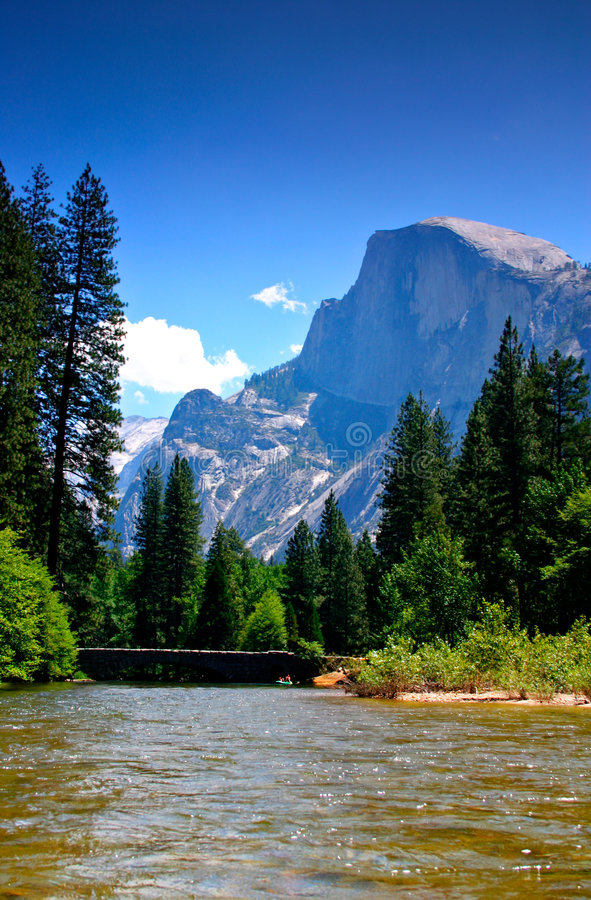 Free Merced River, Yosemite National Park Stock Image - 1251851