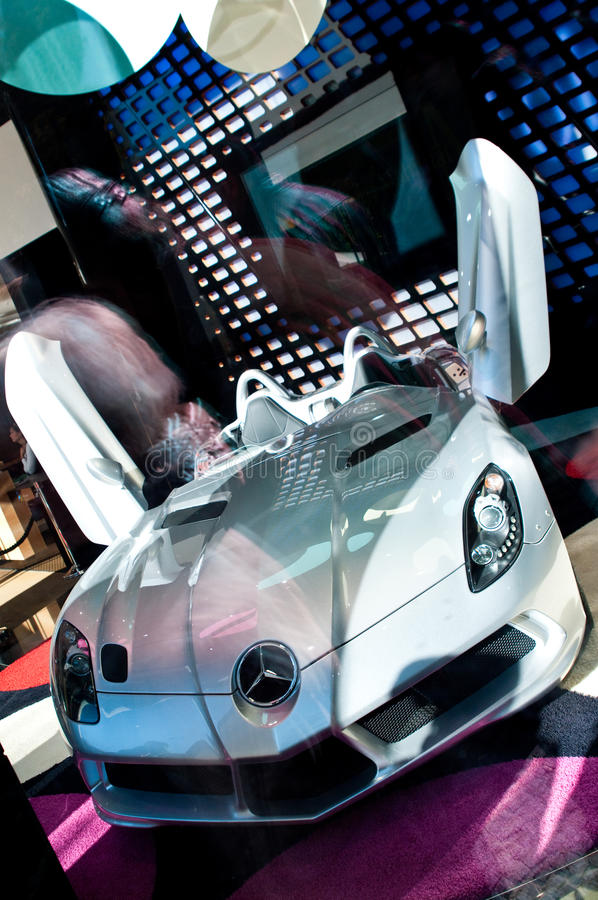 Mercedes στοκ εικόνες με δικαίωμα ελεύθερης χρήσης