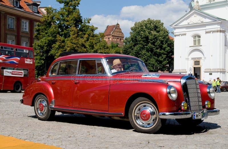 Mercedes 1954 300B Adenauer lizenzfreies stockbild