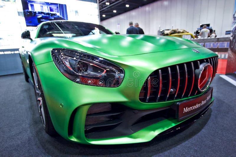 Mercedes-AMG GT R auf Anzeige in der London-Autoausstellungs-Excel-Ausstellungs-Mitte 2018 stockfoto