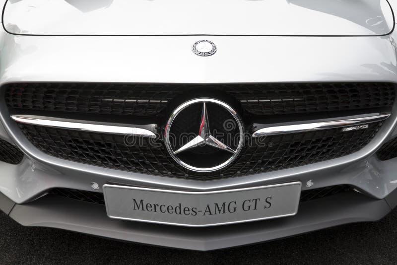 Mercedes-AMG GT S DTM imagenes de archivo