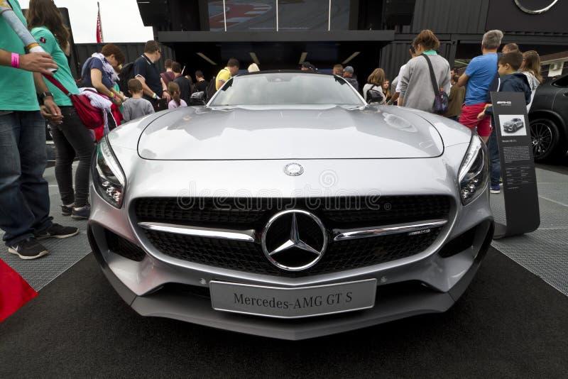 Mercedes-AMG GT S DTM fotos de archivo libres de regalías