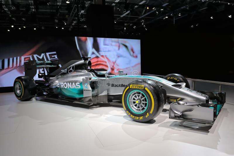 Mercedes AMG Petronas F1 W05 royalty free stock image
