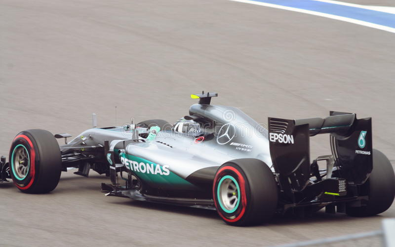 Mercedes AMG Petronas Grand Prix F1 2016 royalty free stock images