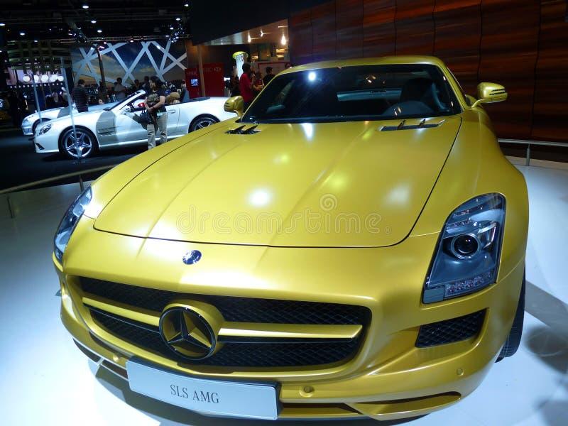Mercedes AMG SLS stock photos