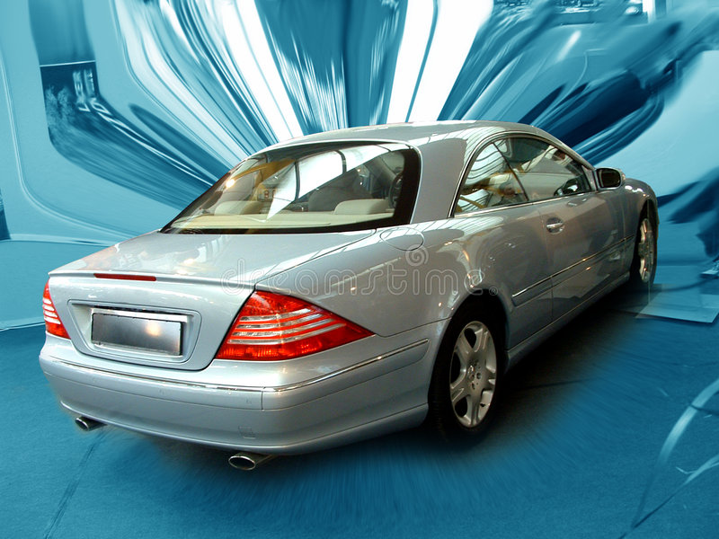 Mercedes Benz royalty free stock image