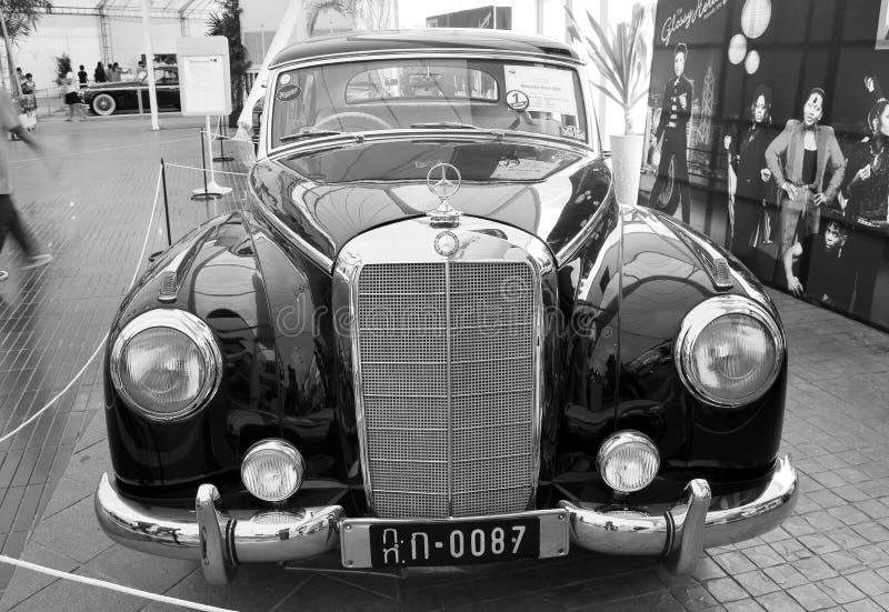 Mercedes-Benz 300B, Uitstekende auto's stock afbeelding