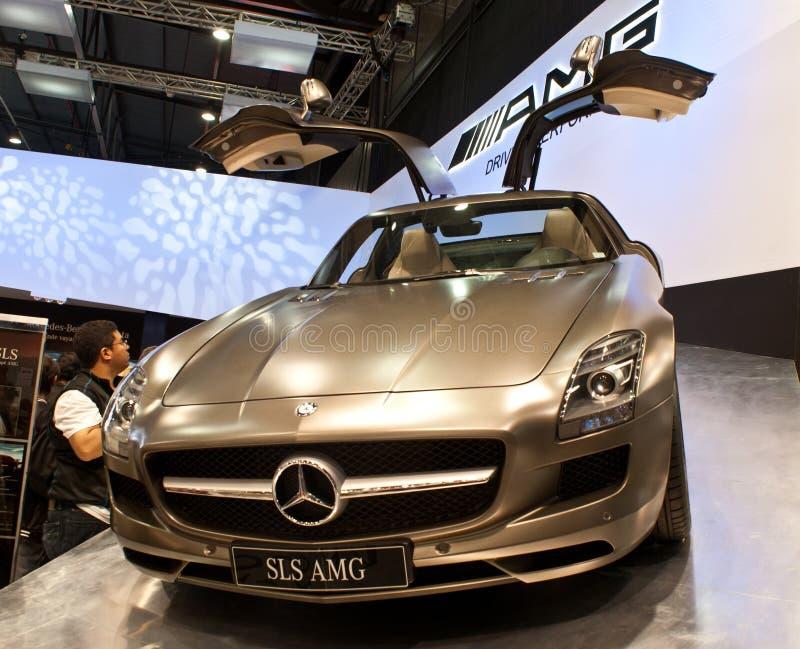Mercedes benz. royalty free stock photo