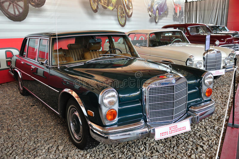 Mercedes Benz 600 1963 royalty free stock image
