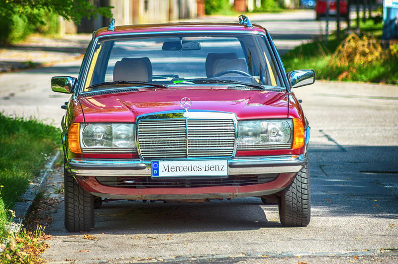 Mercedes Benz fotografia de stock royalty free