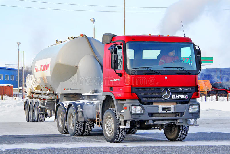 Mercedes-Benz Actros zdjęcia stock