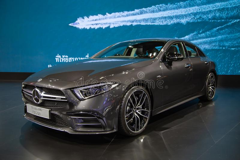 Mercedes Benz AMG CLS 53 royalty free stock images