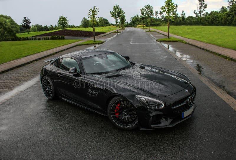 Mercedes Benz AMG GT stockfotos