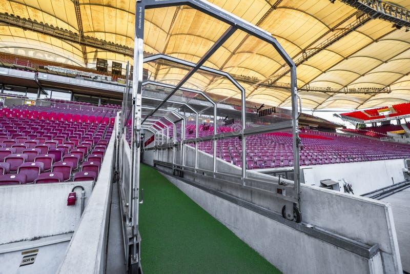 At Mercedes Benz Arena stock photos