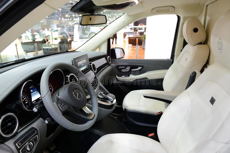 Download The Mercedes Benz Brabus V Class Van Interior Is On Dubai Motor  Show