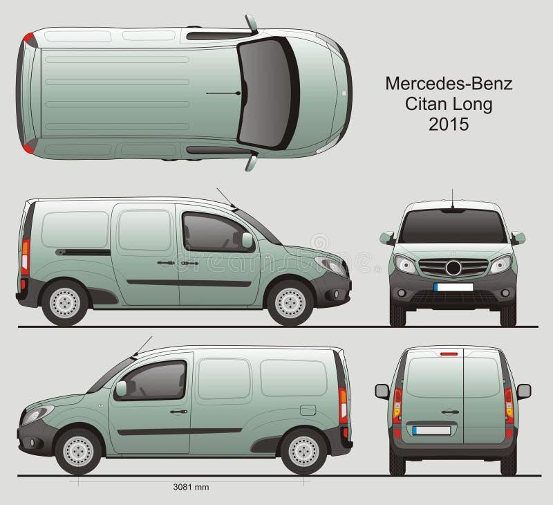 Mercedes benz citan long cargo van 2015 editorial image download mercedes benz citan long cargo van 2015 editorial image illustration of blueprint malvernweather Choice Image