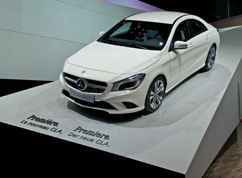 Mercedes-Benz CLA 2014 royaltyfria foton