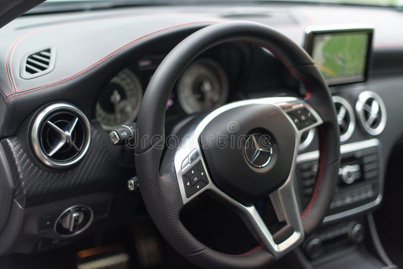 Mercedes Benz A-Class stock image