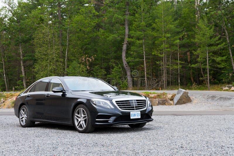 Mercedes-Benz 2013 classi s Top Model Sedan fotografia stock libera da diritti