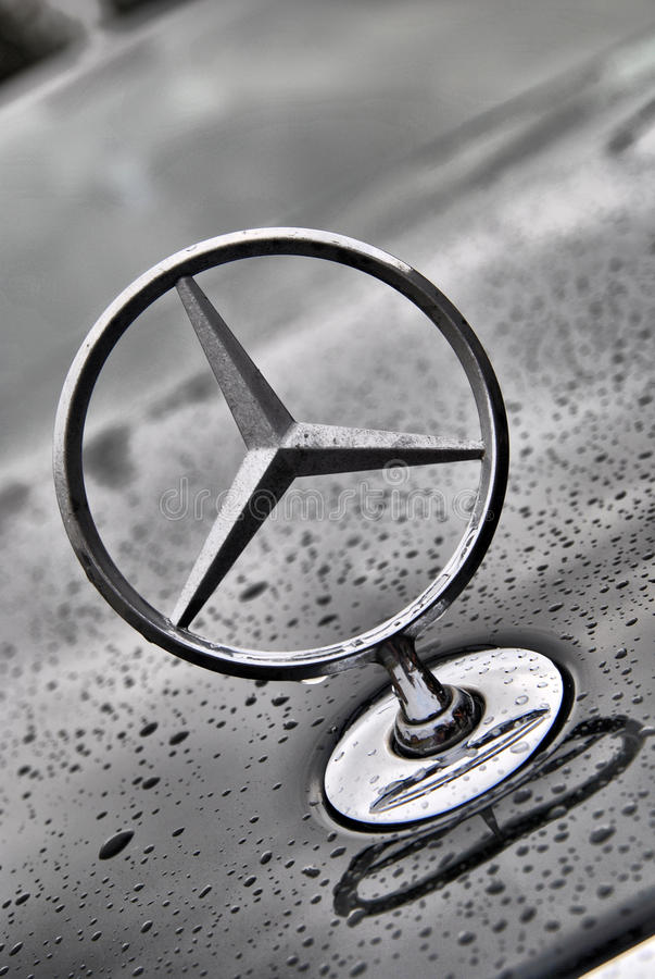 Mercedes benz closeup logo editorial photo image of for Service plan b mercedes benz