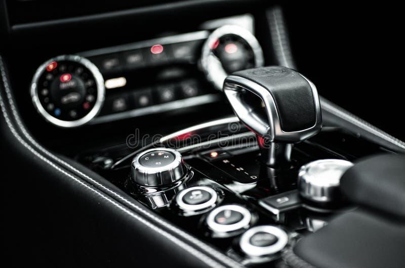 Mercedes Benz CLS AMG63 V8 Biturbo 2017, interior royalty free stock photos