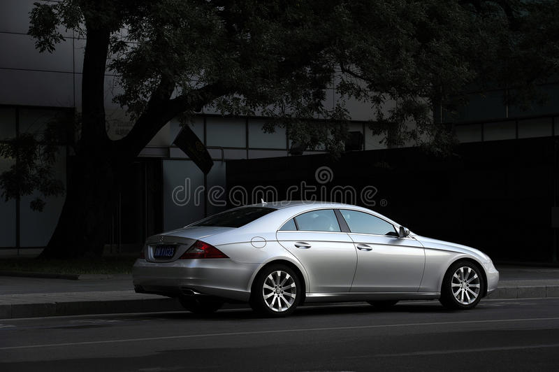 Download Mercedes-Benz CLS-Class editorial stock photo. Image of tour - 34831883