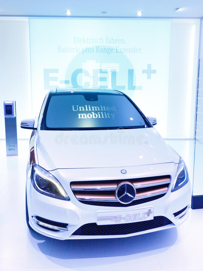 Download Mercedes-Benz Concept B-Class E-Cell Plus Editorial Photo - Image of internationale, ausstellung: 21370436