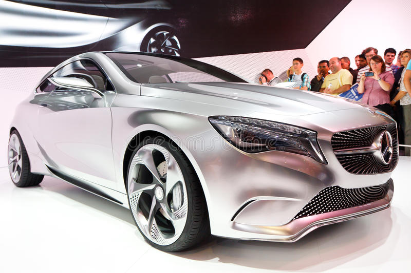 Download Mercedes-Benz Concept A-Class Editorial Stock Image - Image: 21370249