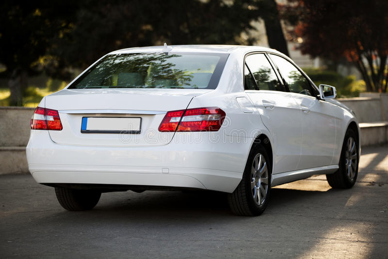 Mercedes benz e class model royalty free stock photo
