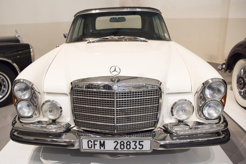 Mercedes-Benz 280 E classic car, 1972 royalty free stock images